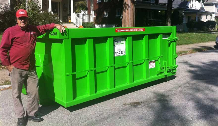 Contact Moon Mini Dumpsters Louisville Amp Lexington Ky