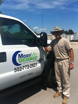 Moon Mini Dumpster in Louisville