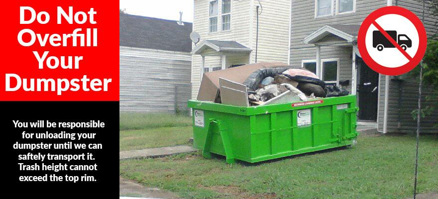 Dumpster Rental Faqs