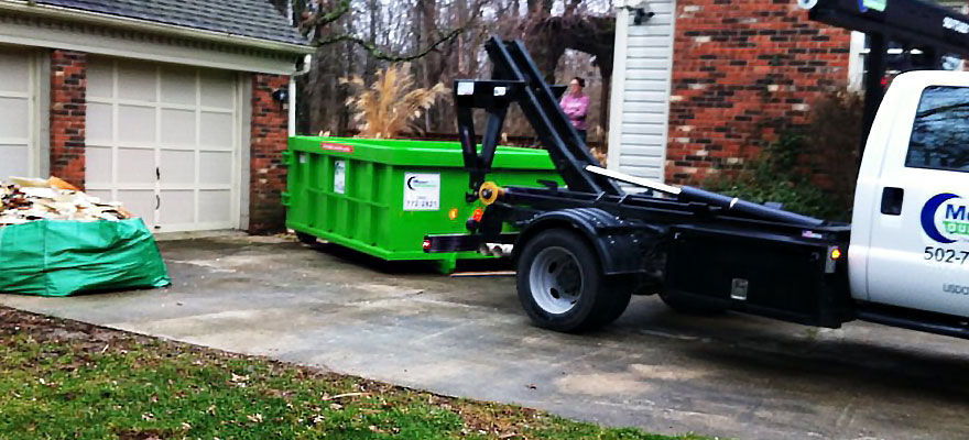 9 Yard Dumpsters Moon Mini Roll Off Dumpster Rentals