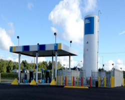 LNG station sellersburg in